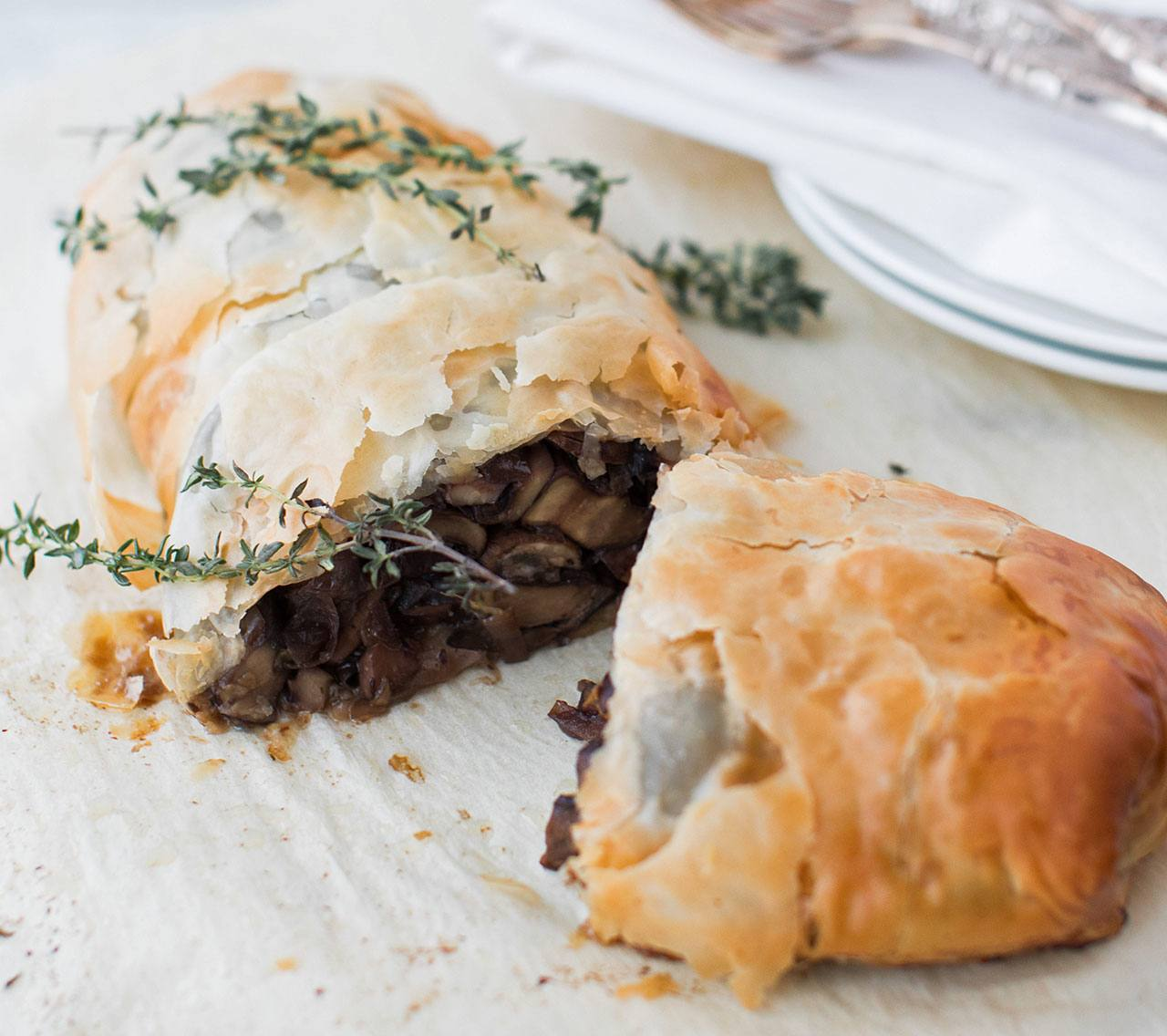 recipe image Vegan Mushroom Wellington