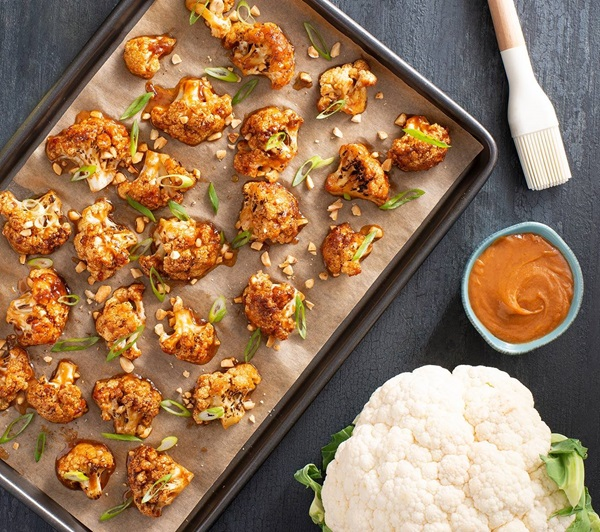 recipe image Spiced Cauliflower Wings