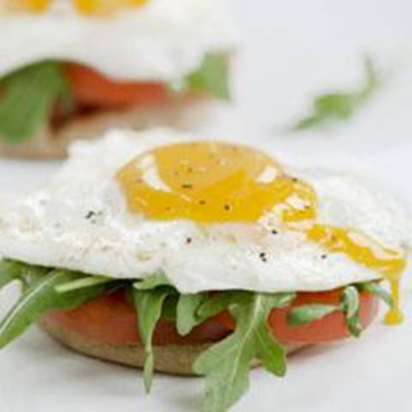 recipe image Open Face Egg Breakfast Sandwiches
