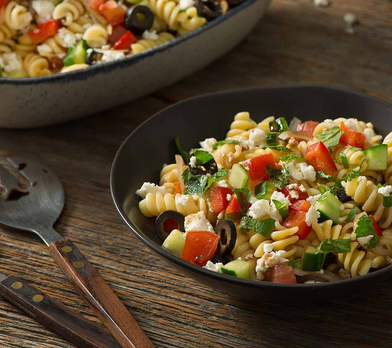 recipe image Greek Pasta Salad
