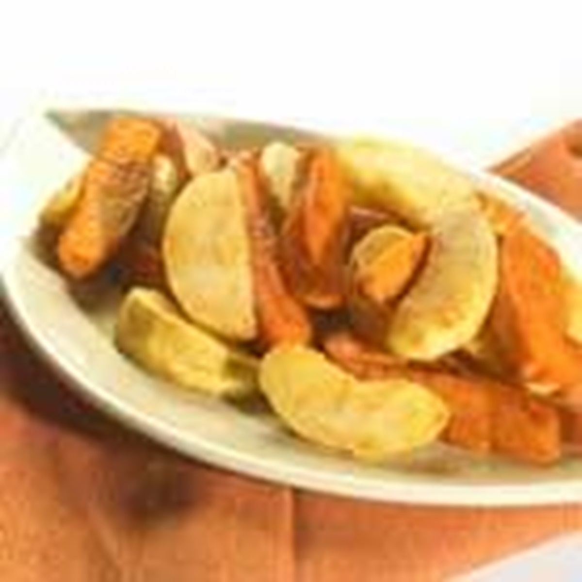 recipe image Roasted Sweet Potatoes & Apples