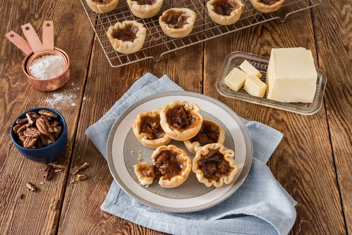 "recipe image Becel Plant-Based ""Butter"" Tarts"