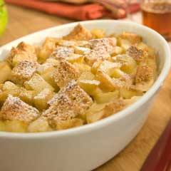 recipe image Apple 'N Maple Breakfast Bread Pudding