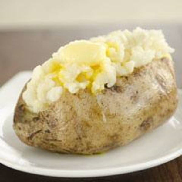 recipe image Becel Baked Potatoes