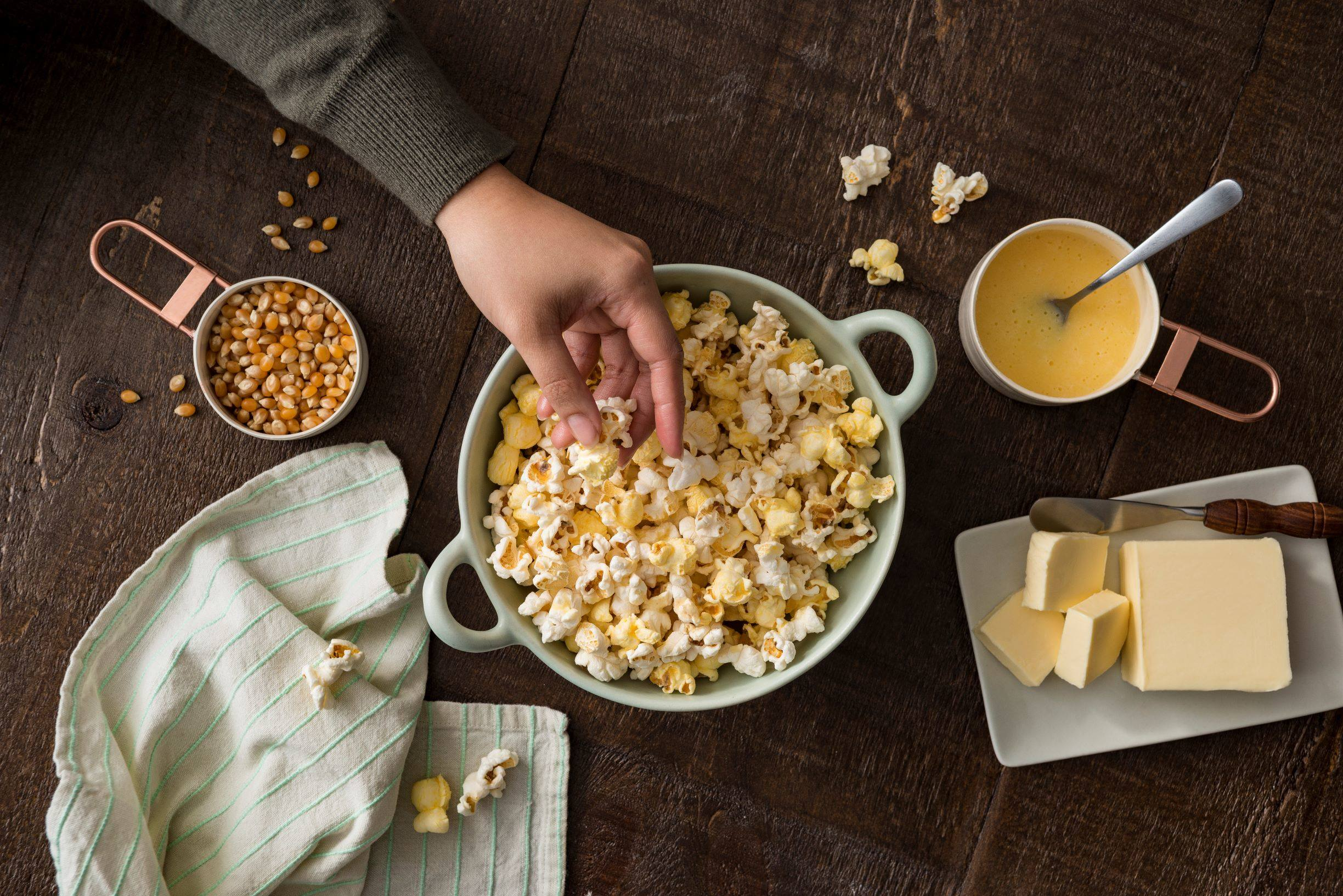 recipe image Buttery Popcorn