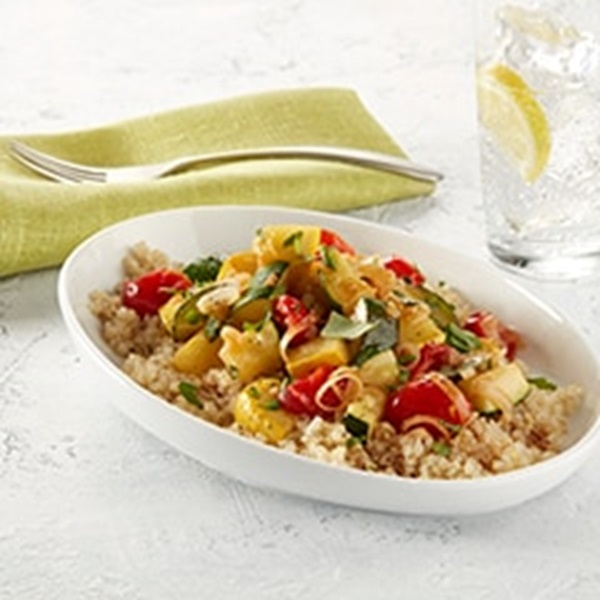 recipe image Vegan Quinoa Ratatouille