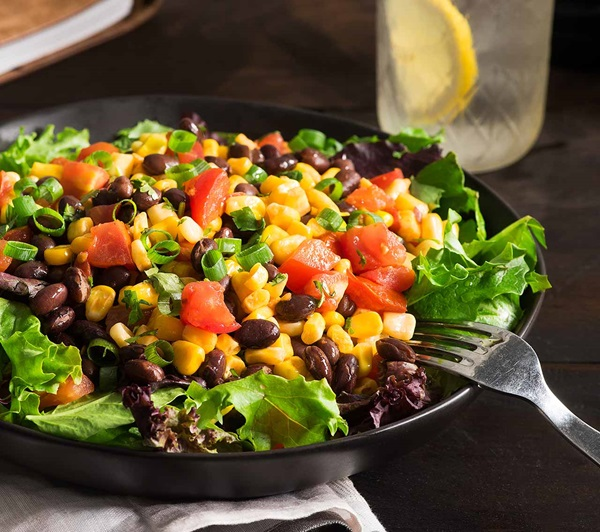 recipe image Fresh Black Bean Salad with Corn