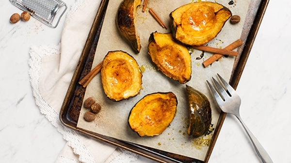 recipe image Roasted Squash with Sugar & Spice