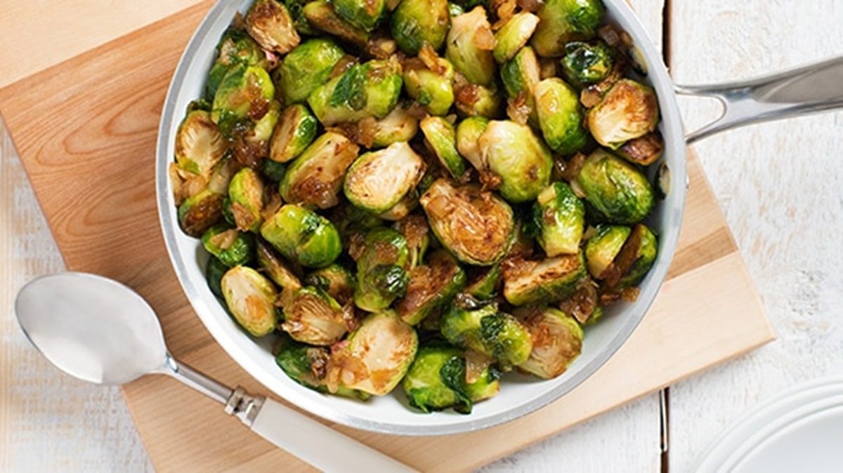 recipe image Sautéed Buttery Brussels Sprouts