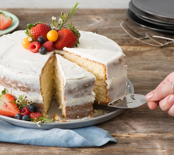 recipe image Vanilla Layer Cake