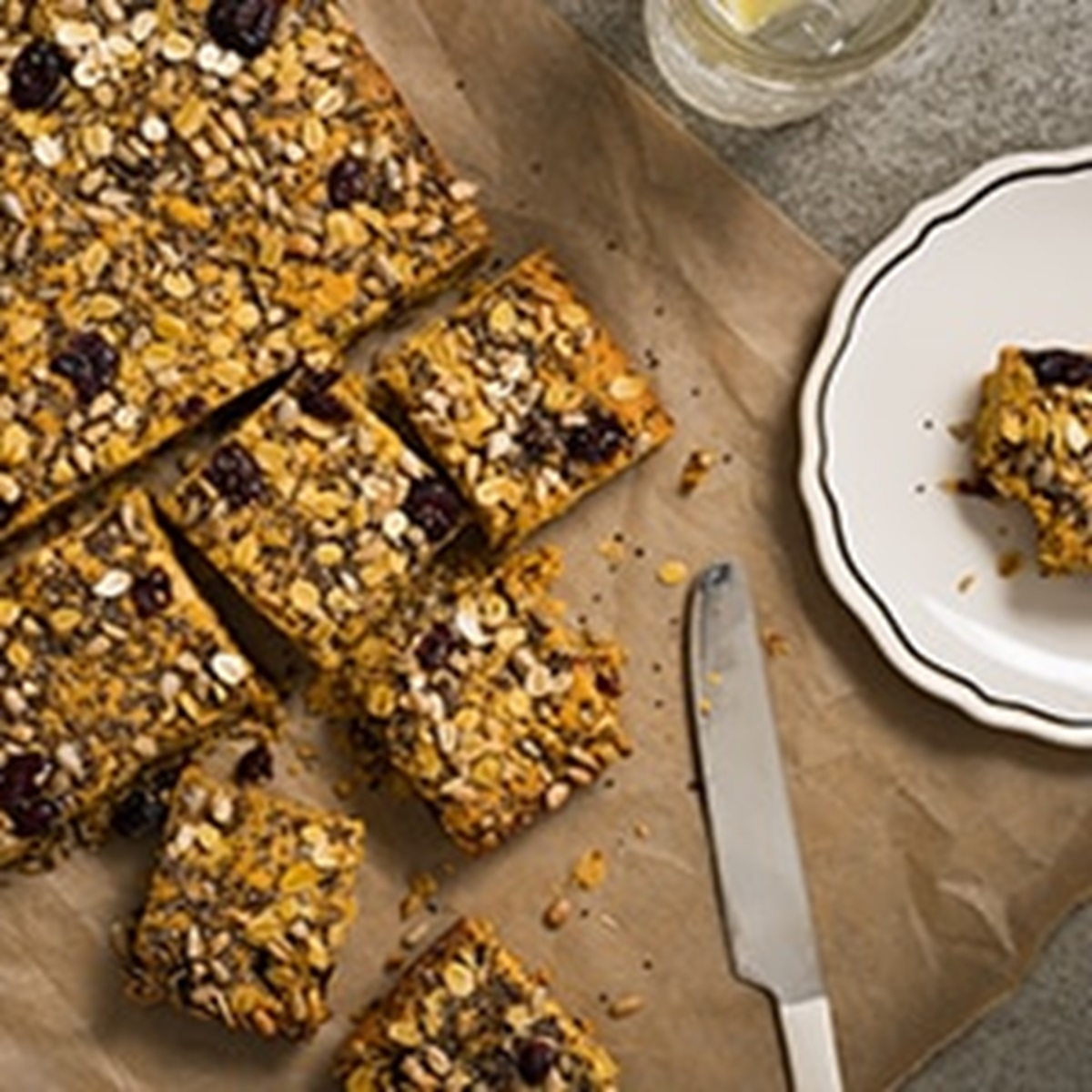 recipe image Vegan Energy Bars
