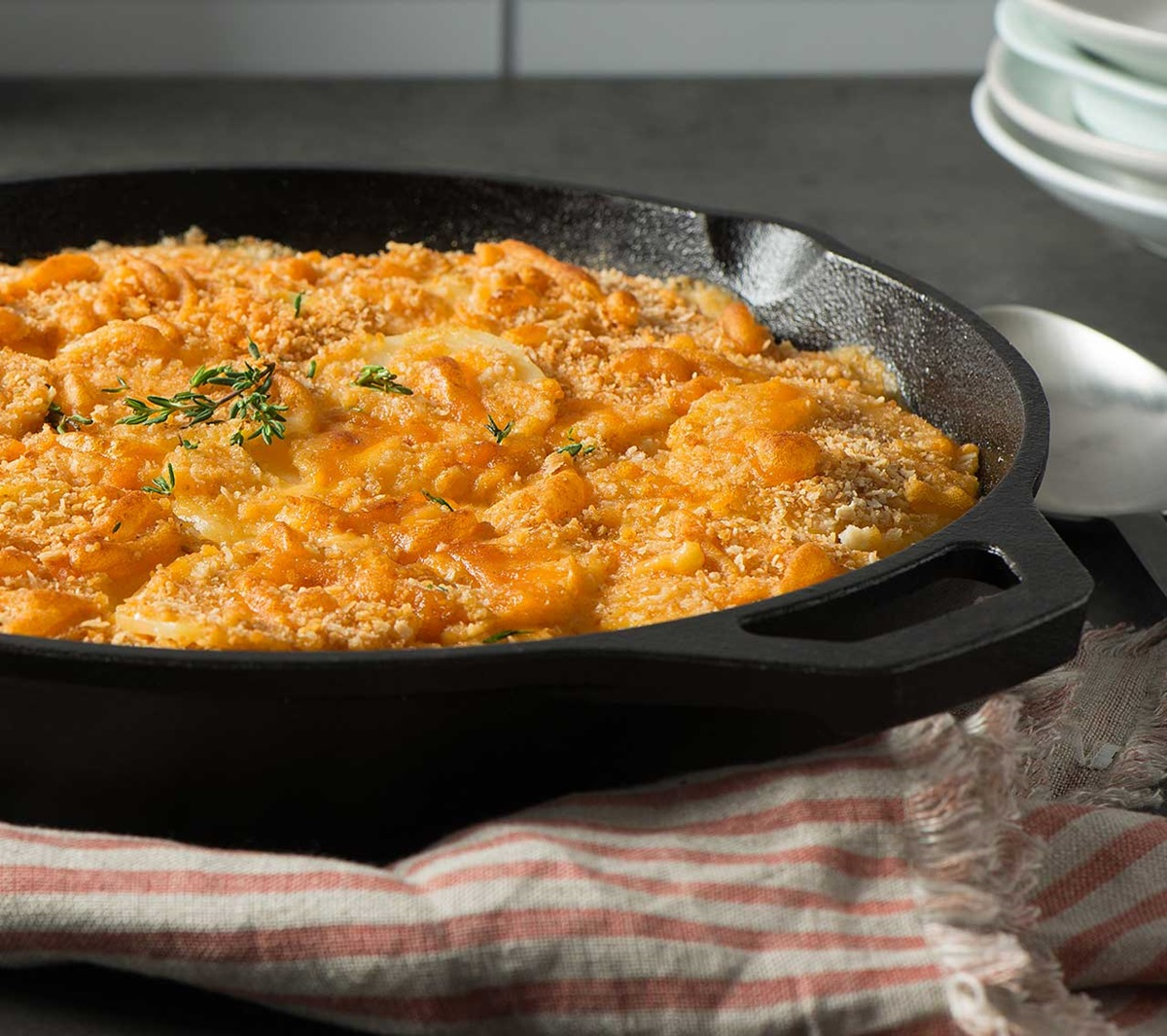 recipe image Cheesy Scalloped Potatoes