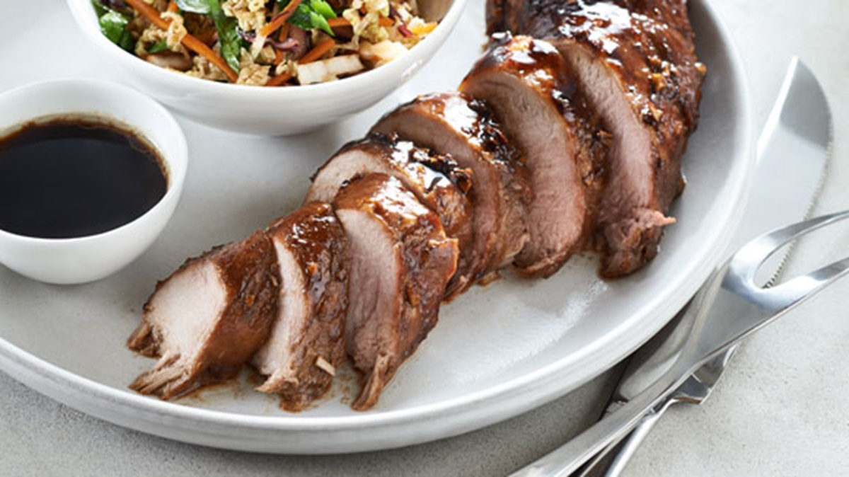 recipe image Asian-Style Pork Tenderloin