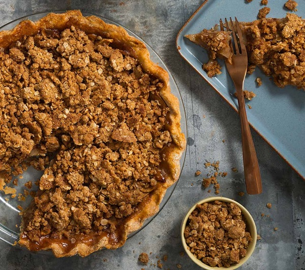recipe image Oatmeal Crumble Topping