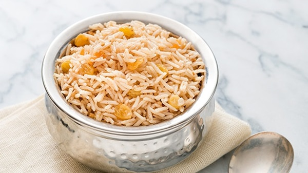recipe image Indian-Style Basmati Rice with Turmeric