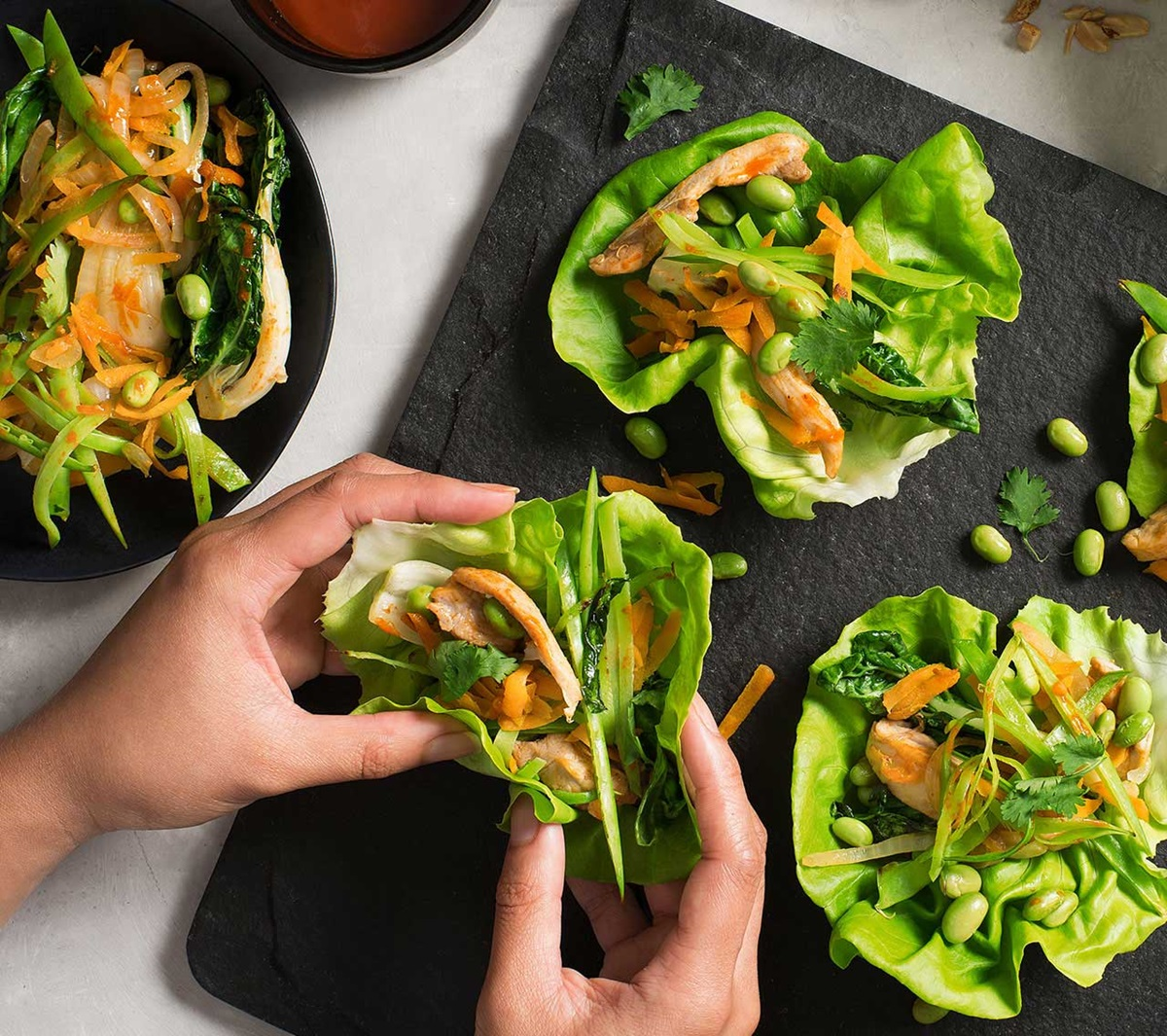 recipe image Asian Chicken Lettuce Wraps
