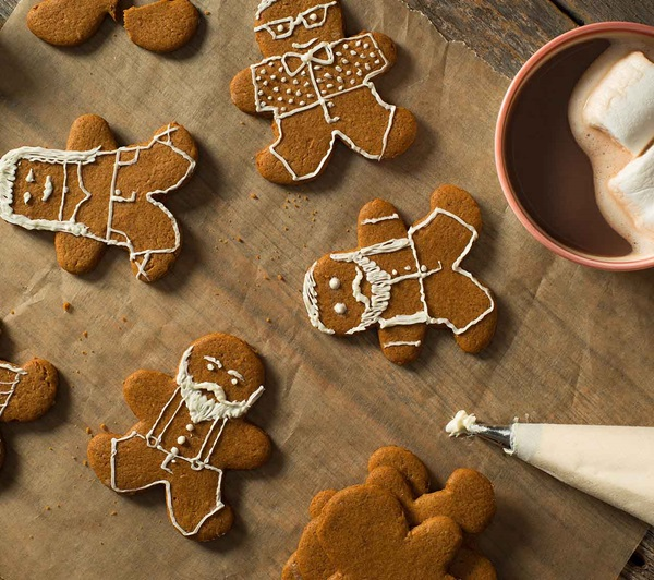 recipe image Gingerbread People Cookies
