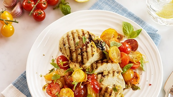 recipe image Balsamic Chicken with Cherry Tomatoes