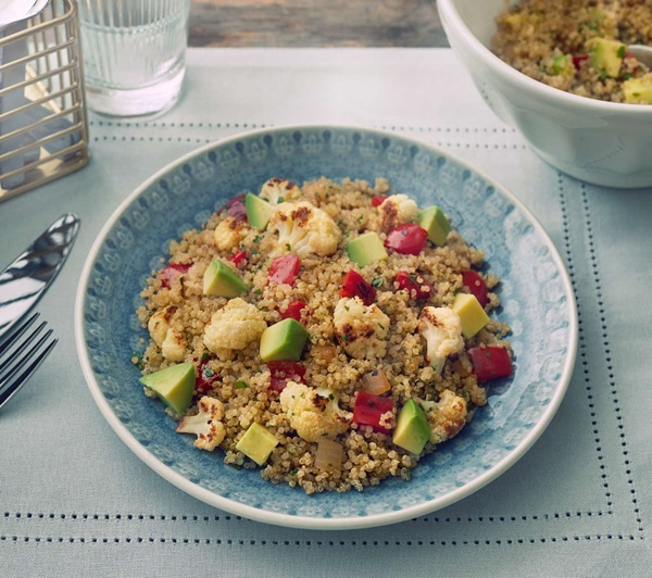 recipe image Honey-Lime Quinoa and Cauliflower Salad