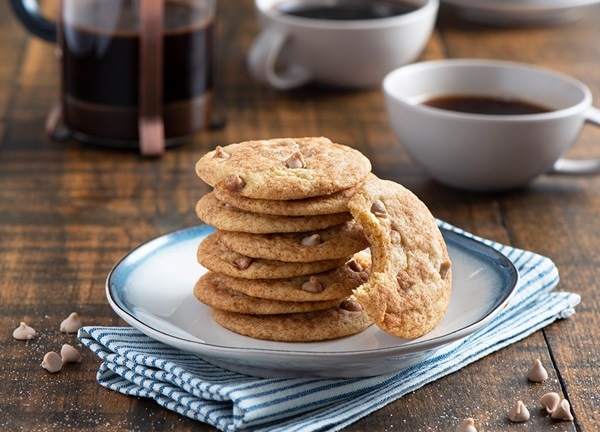 recipe image Spiced Caramel Snickerdoodles